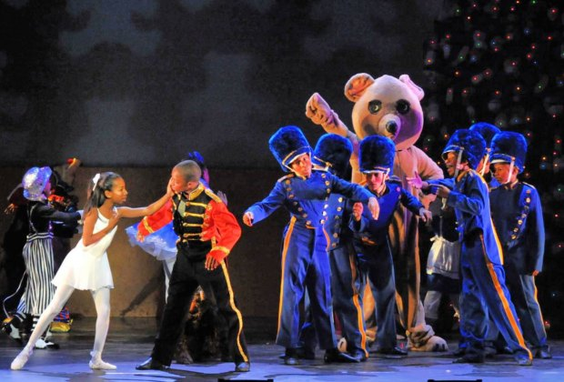 Debbie Allen's Hot Chocolate Nutcracker is back. Photo by Lee Tonks