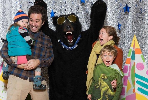 Take funny family photos at the Hudson Valley Hulabaloo Holiday Market.