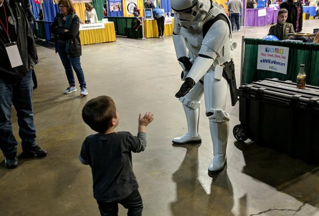 Meet your favorite characters at Hudson Valley Comic Con. Photo courtesy of the event