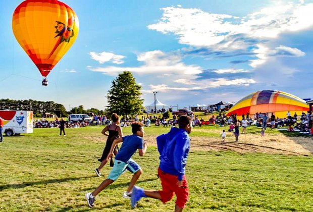 The Hudson Valley Hot-Air Balloon Festival is one of the most-anticipated events of the season. Photo courtesy of the festival