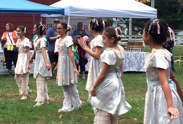 Enjoy traditional dancers and more at the Huntington Historical Society's Apple Festival. Photo courtesy of the historical society