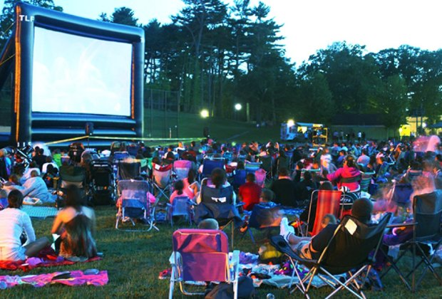 Grab a lawn chair and enjoy a classic at the Town of Huntington's Movies on the Lawn.