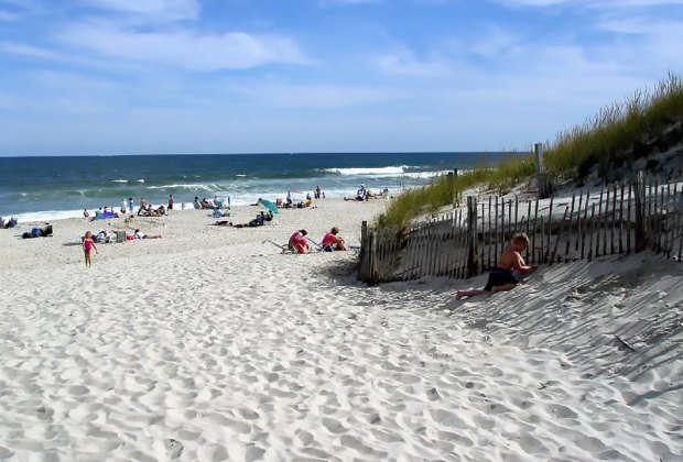 This gorgeous, quiet beach will be your family's new favorite spot. Photo courtesy of NJ Dept. of Parks and Forests