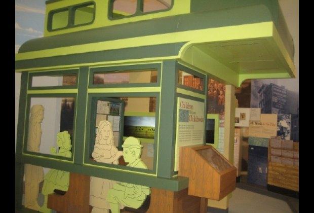The Orphan Train area