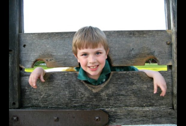 You Have to Take a Photo of your Kids in the Stocks!