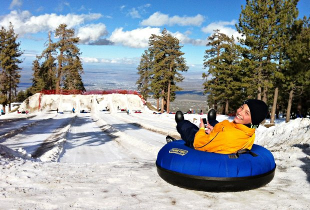 Mountain High's North Pole Tubing Park, photo by Mommy Poppins