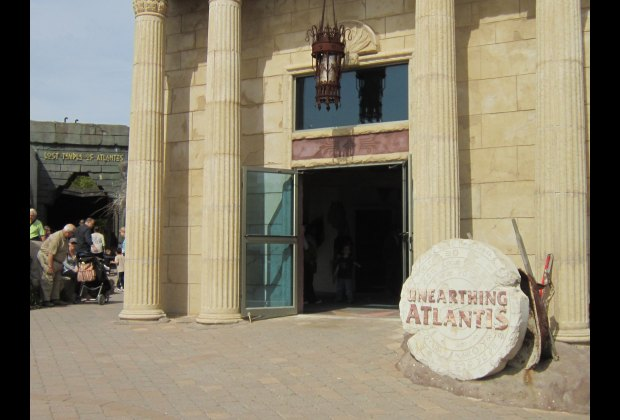 The ruins of Atlantis