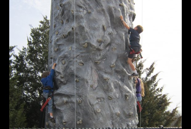 My kids love to climb!