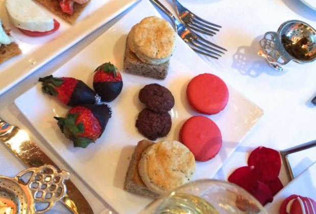 A gluten free tea doesn't disappoint at Rowes Wharf Grille