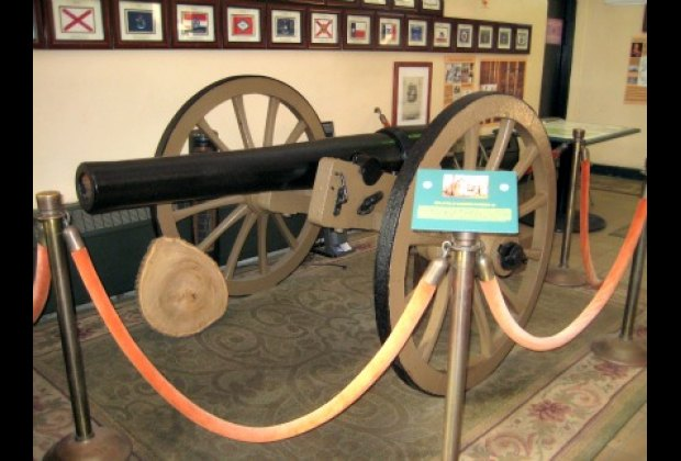 As are relics from the Revolutionary War and the War of 1812