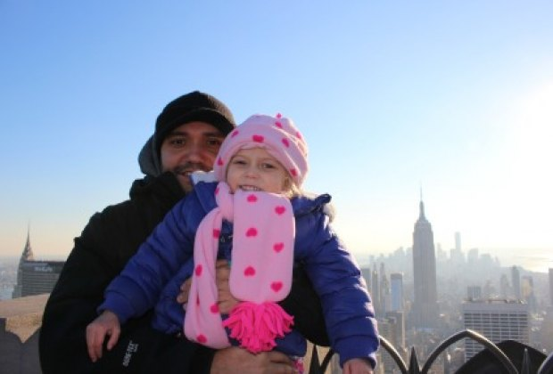 Where else can you pose on the same plane as the Empire State Building?