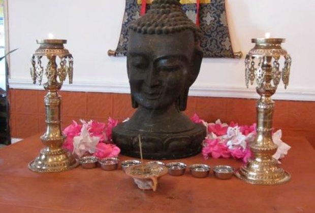 Shrine at Thakali Kitchen