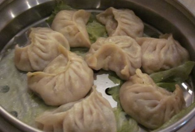 Yummy Nepali momos (a.k.a. dumplings)