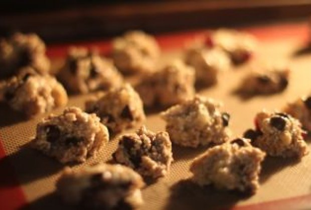 Spoon onto cookie sheet and bake