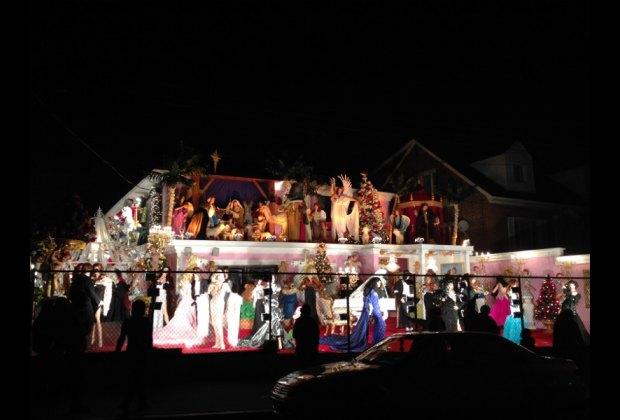 Garabedian Family Christmas House in the Bronx
