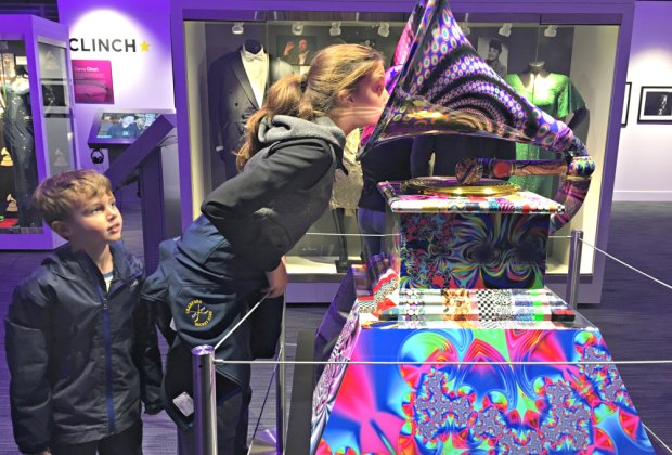 Kids can get immersed in music and music history at the new GRAMMY Museum Experience.