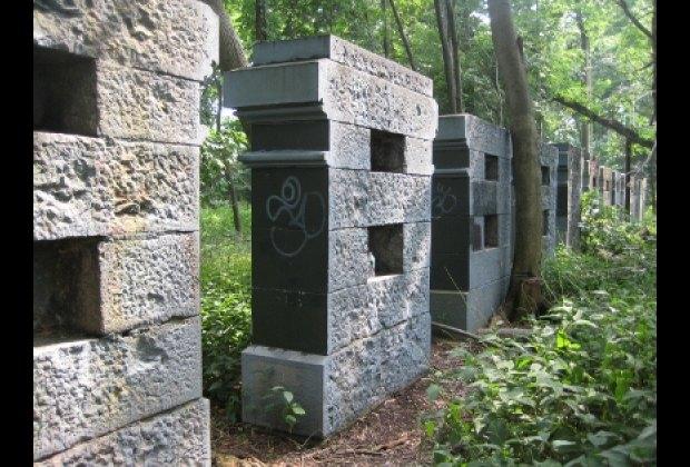 Vanderbilt's stone slabs
