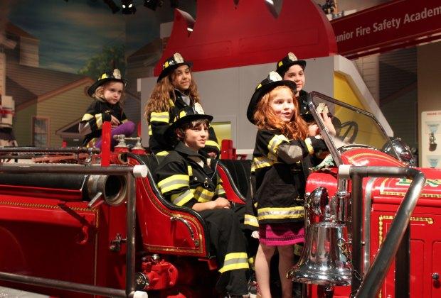 Kids Can Climb Aboard the FireTruck