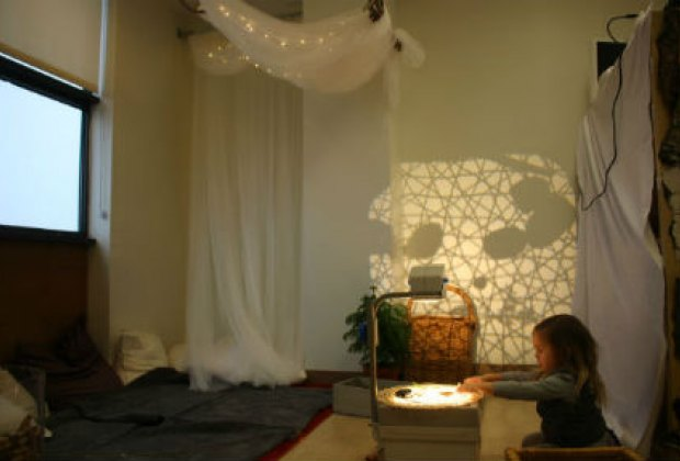 Comfy corner and natural projections