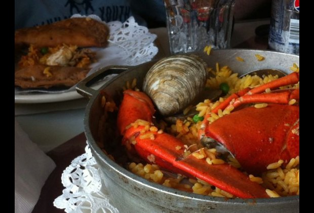Paella at Tastes of Portugal