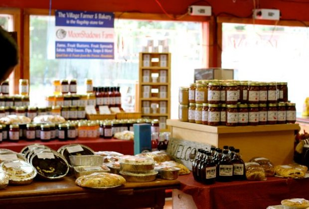 Village Farmer baked goods and jellies