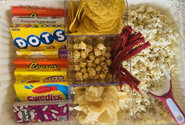 Irresistible Dessert Board Recipes for Kids: Movie Night Board