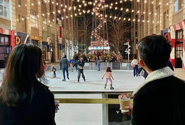 Hit the ice at Industry City this midwinter break