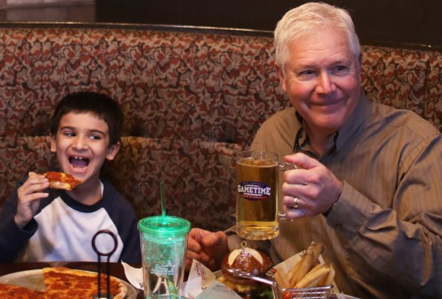 Grandparents can ride and eat for free at iPlay America this Sunday! Photo courtesy of iPlay America