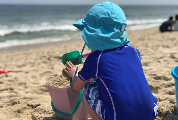 Best Beach Gear and Hacks for Families with Young Kids: Swimsuits and Rash Guards