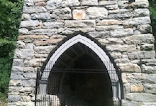 The old iron furnace at Eric Sloane Museum