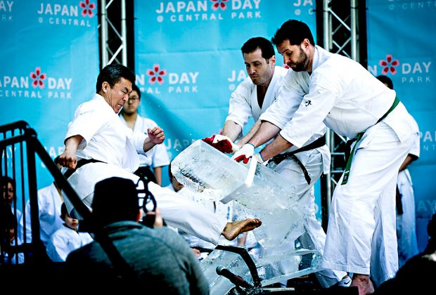 See some amazing martial art moves at the Japan Festival in Central Park. Photo courtesy of the festival