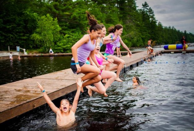 <i>JCC Greater Boston offers traditional day and overnight camps as well as specialty options. </i>