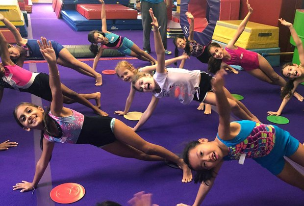 Jodi's Gym in Mt. Kisco offers a variety of kids' classes, from Ninja Challenge to gymnastics.