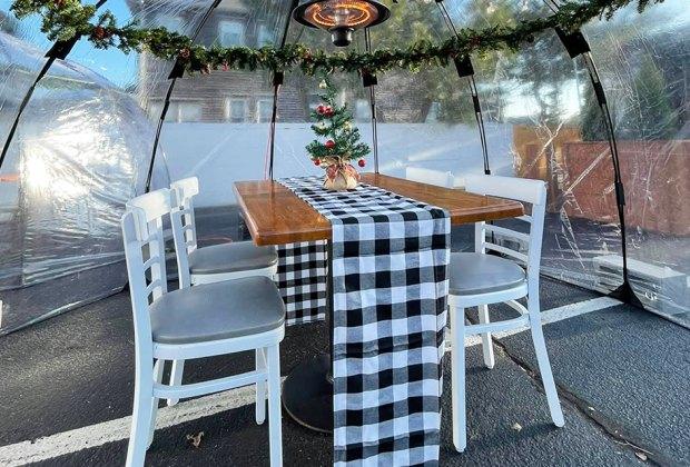 SunBubble at Josie Kelly Public House Creative Outdoor Dining NJ