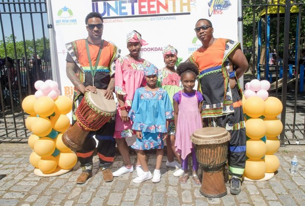 Enjoy family-friendly performances at Juneteenth which celebrates freedom for all, worldwide. Photo courtesy of Juneteenth NY