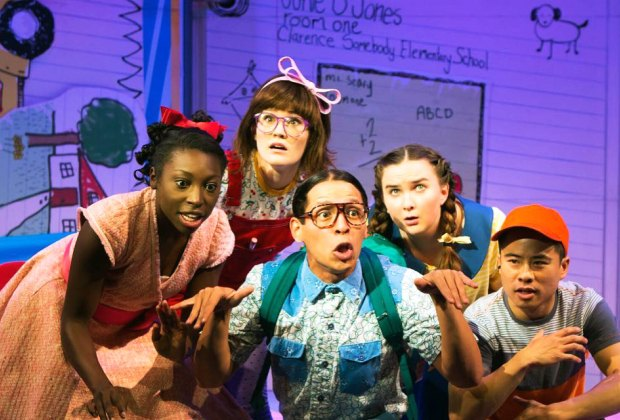 Learn about the sassy little diva, Junie B. Jones, and her first grade adventures. Photo courtesy of the production
