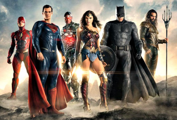 Justice League. Photo courtesy of Warner Brothers