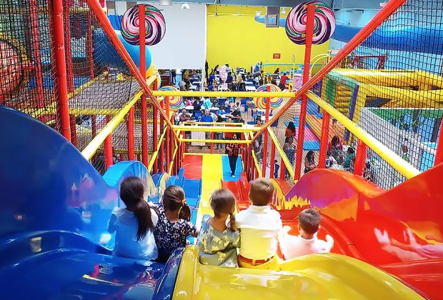 Kanga's Indoor Playspace is a massive space that's fun for kids of all ages.