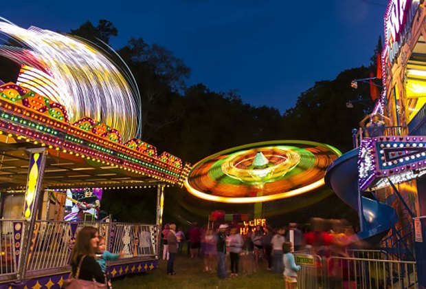 The 10th annual Katonah Fire Department Carnival features rides, games, and more. Photo by Gabe Palacio
