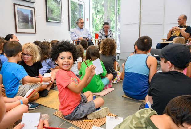 Take part in a variety of art activities at Family Day at the Katonah Museum of Art on Sunday, November 24. Photo courtesy of the museum