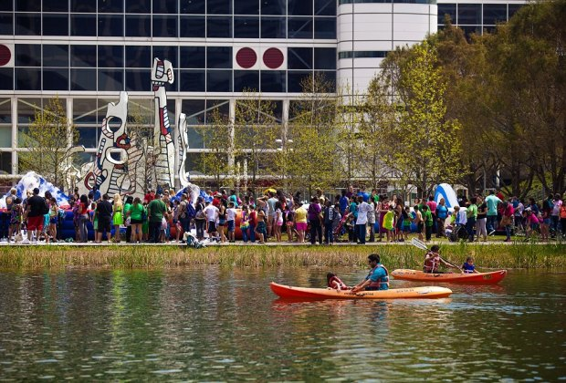 Take to the water at Kinder Lake this weekend./Photo courtesy of Katya Horner.