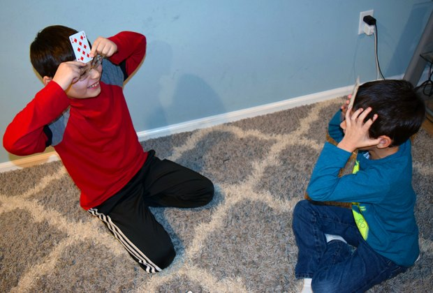 Card Games Every Kid Should Know: Forehead poker is all about guessing!
