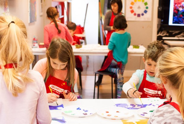Kidcasso is open in Newton! Photo by Stephanie Goryl, courtesy of Kidcasso Art Studio