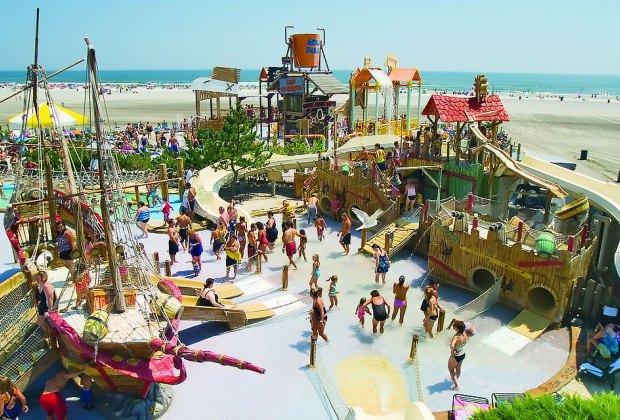 Shipwreck Shoals at Morey's Pier and Water Park. Courtesy of the park