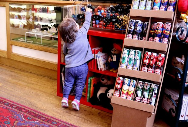 Our favorite NYC toy stores encourage curiosity and play. Photo courtesy of Kidding Around