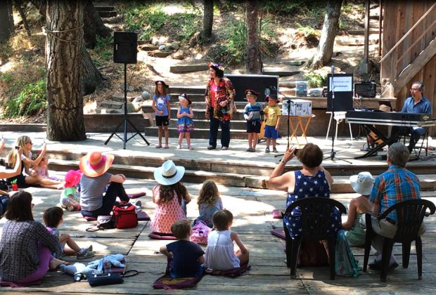 Peter Alsop's Kids Koncerts return to the Will Geer Theatricum Botanicum. Photo courtesy of the  event