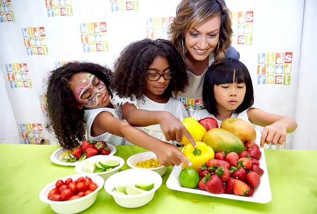 Learn about healthy food choices and see live cooking demos at the Kids Food Festival at Brookfield Place. Photo courtesy of the festival