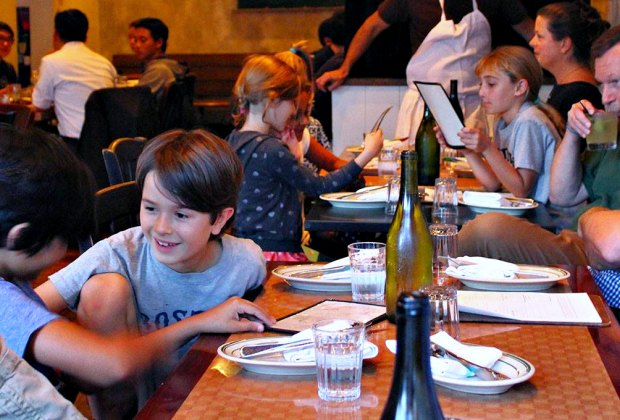 Meet you at KT&T! Kids eat free Sundays through Thursdays from 5.30-6.30pm. Photo courtesy of Kirkland Tap and Trotter