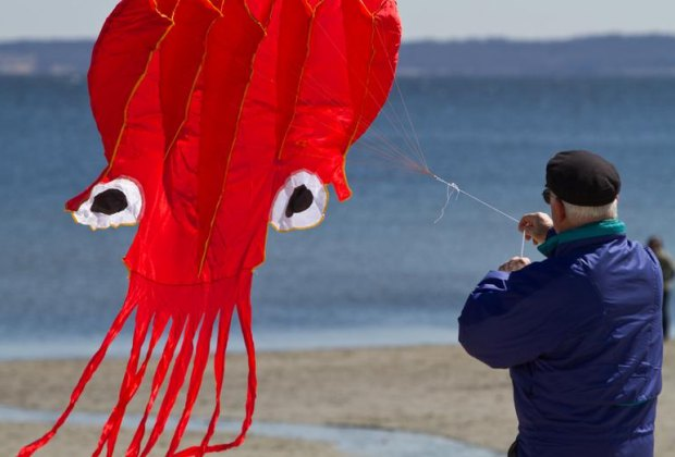 Kite Festival. Photo by Joanne Bouknight courtesy ofThe Greenwich Arts Council