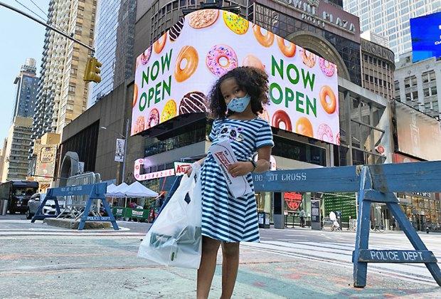 Krispy Kreme is now open in NYC
